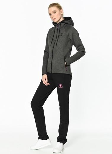 Kapüşonlu Fermuarlı Polar Sweatshirt-Hummel